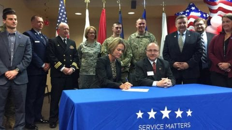 Comcast pledges support to military community
