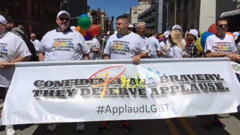 Celebrating Pride and supporting Pittsburgh's LGBTQ community