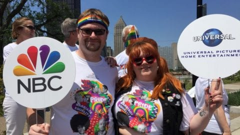 Comcast rises up and celebrates Pride