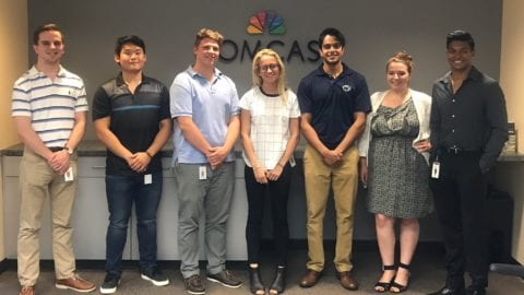 Building future leaders: Comcast's internship experience