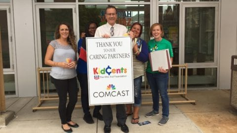Employee resource groups deliver school supplies to local Boys & Girls Clubs