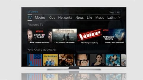 Comcast introduces Netflix in 4K on Xfinity X1