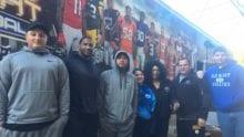 Comcast hosts Sunday Night Football Bus