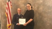 Comcast Business director receives Employer Support of the Guard and Reserve Patriot Award