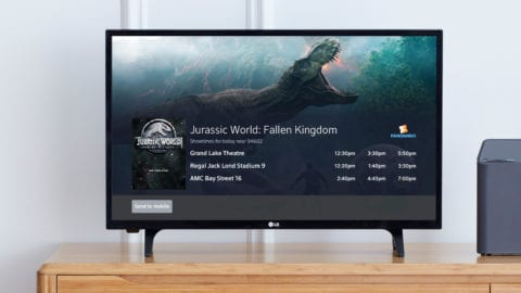 Comcast and Fandango Launch Voice-activated Movie Ticketing Experience on the Television