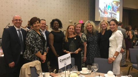 Kristen Bell Presented Honorary Woman of Courage Award by Pennsylvania Women Work