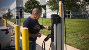 Comcast's Sustainability Initiatives Include Electric Vehicle Charging Stations, Solar Panels and More