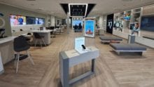 Xfinity store interior in Homestead, Pittsburgh