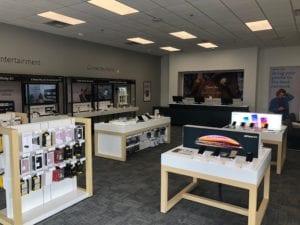 Interior shot of Bridgeville Xfinity store