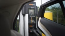 A Chargepoint charging station.