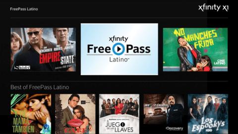 X1 screen showing FreePass Latino