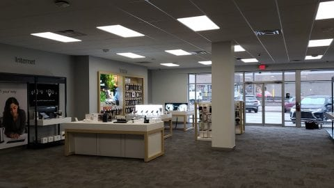 Inside of the new West Mifflin Xfinity Store.