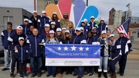 Comcast volunteers