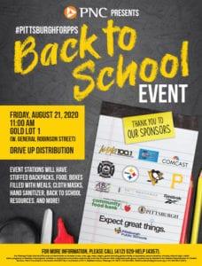Pittsburgh Public Schools Back to School event